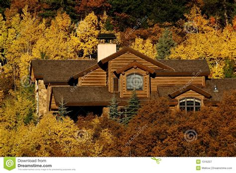 vacation home stock image image of structures fall