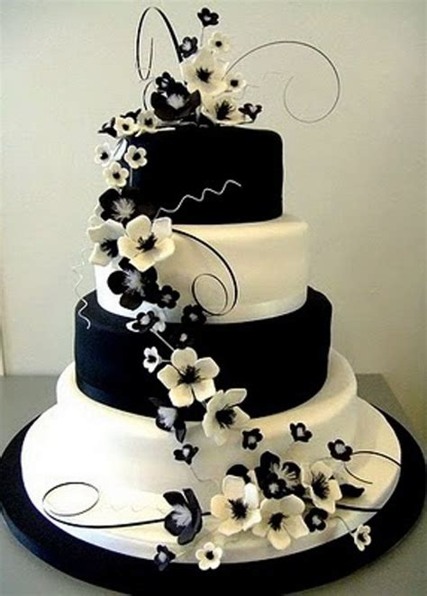 17 best ideas about black white cakes on cakes design