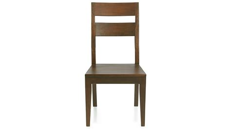 European Farmhouse by Basque Honey Wood Dining Chair Crate And Barrel