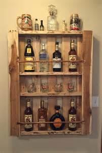 rustique palette meuble bois mur 233 tag 232 re liqueur cabinet