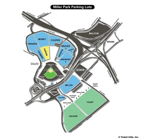 miller park seating map miller park milwaukee wi seating chart view