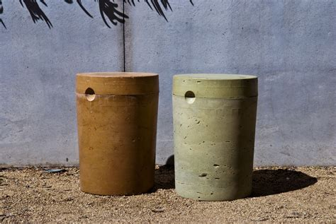 Concrete Stool Diy by Diy Concrete 5 Gallon Stool