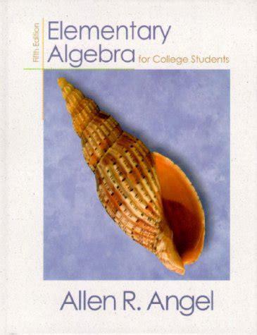 intermediate algebra for college students 3rd edition librarika elementary and intermediate algebra for college