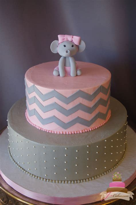 Pic Of Baby Shower Cakes by Pics For Gt Elephant Baby Shower Cake
