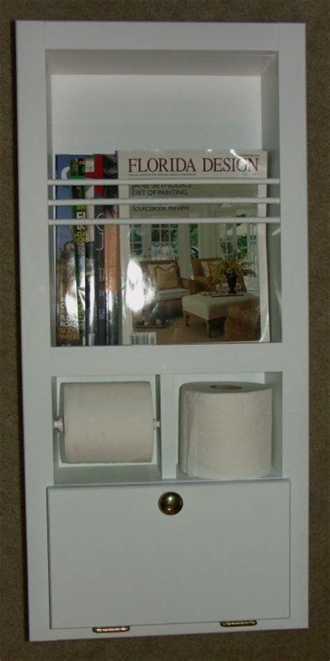 diy magazine rack for bathroom custom mr 10 in the wall magazine rack toilet paper holder