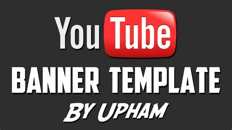 gimp youtube banner template best business template