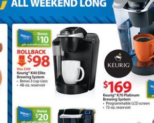 Walmart Keurig Gift Card - walmart black friday deals my frugal adventures