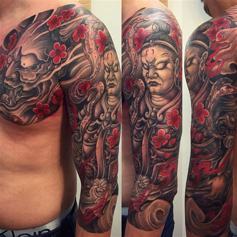 japanese tattoo cover up ideas sleeve cover up by khuong daruma http instagram com p