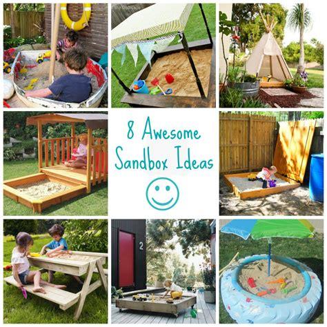 Sandbox Ideas Backyard Outside On Pinterest Shade Sails Sandbox And Backyard Play Areas