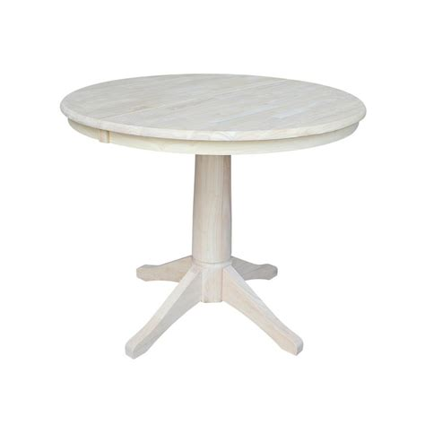 unfinished pedestal dining table international concepts unfinished pedestal dining table k
