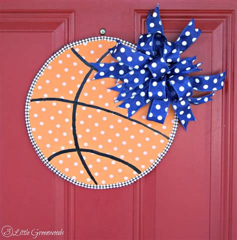 Basketball Decor by Basketball Door Decor