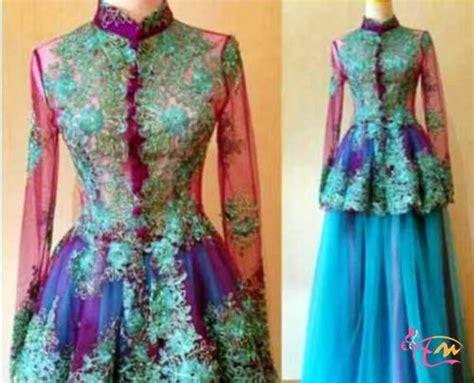 jual kebaya modern muslim 2016 pengantin wisuda pesta design kebaya pengantin auto design tech