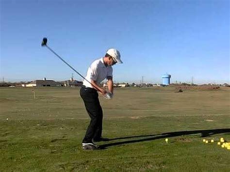golf driver swing speed raul hernandez golf swing full speed driver youtube