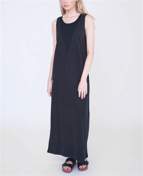 Caroline Dress Maxi caroline organic cotton maxi dress black beaumont