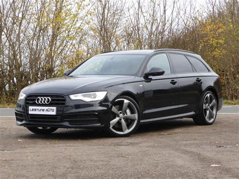Audi A6 Avant S Line Black Edition by Used 2013 Audi A6 Avant Tdi Quattro S Line Black Edition
