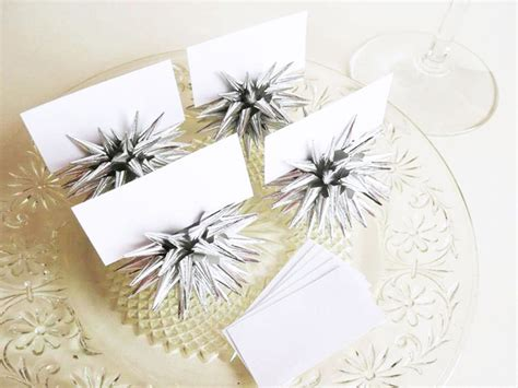 Handmade Place Card Holders - handmade place card holders do it yourself