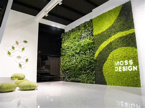 Moss Vertical Garden Moss Wall Projects Made Expo 2011 Italy