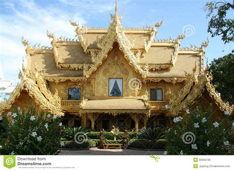 golden house golden house in thailand editorial stock photo image 28356738