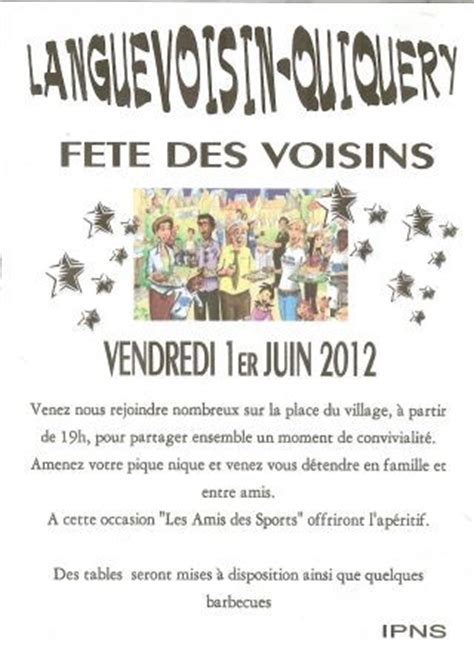 modele invitation fete des voisins 2015 document