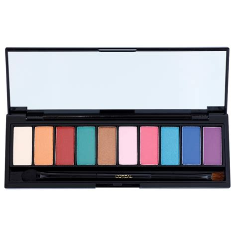 L Oreal La Palette l or 233 al color riche la palette glam eye shadow