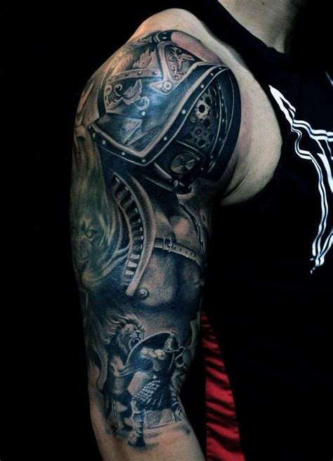 upper arm tattoos for men ideas top 50 best arm tattoos for bicep designs and ideas