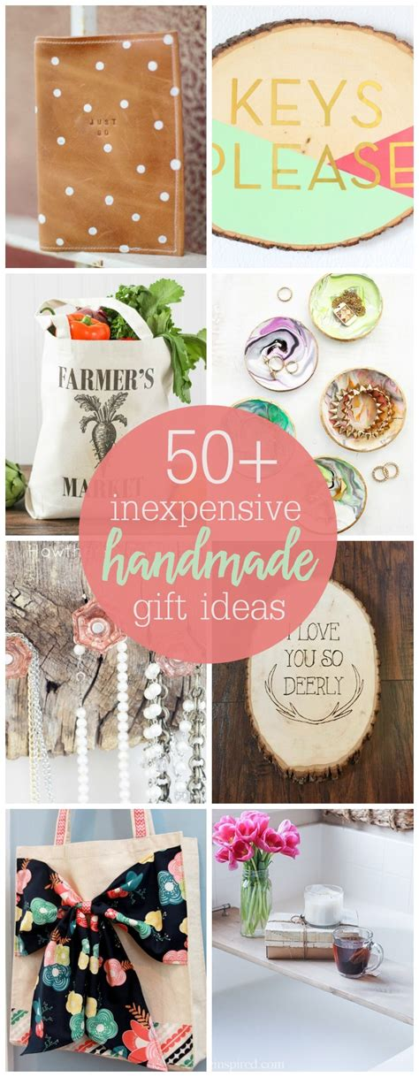 diy gifts inexpensive handmade gift ideas