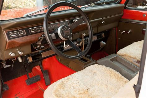 Scout Interiors by 1977 International Harvester Scout Ii Interior