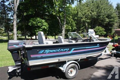used boat parts new york refurbished 17 spectrum fishing boat for sale in vestal