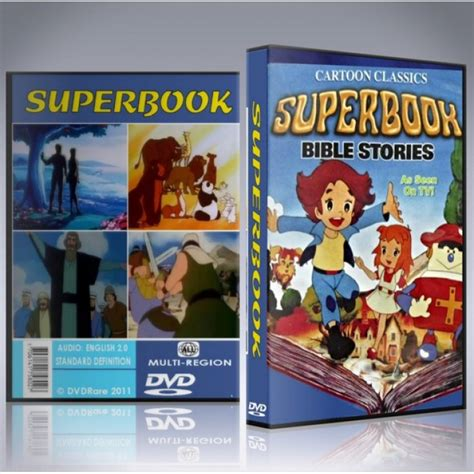 2 Original Dvd Superbook Dvd Original 1980s Series