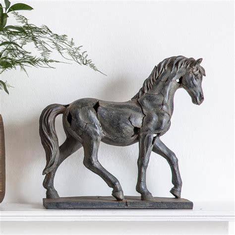tamir antique horse statue home accessories ornaments