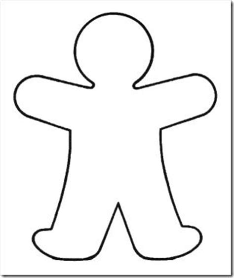 person template preschool googly god made me and about me on