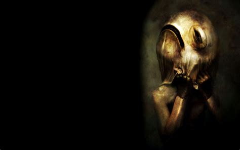 dark ufo wallpaper dark horror scary dream creepy spooky mask macabre art
