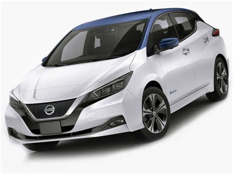 nissan leaf 2018 model 3d model nissan leaf 2018 cgtrader
