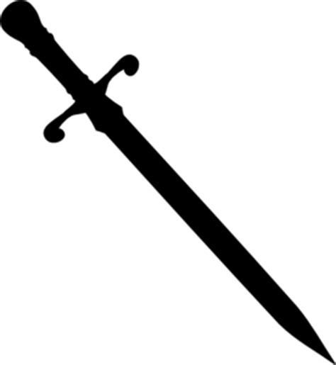sword tattoo png sword silhouette clip art at clker com vector clip art