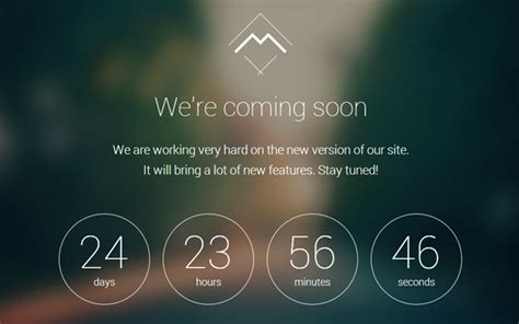 coming soon page template responsive coming soon landing page template 2014
