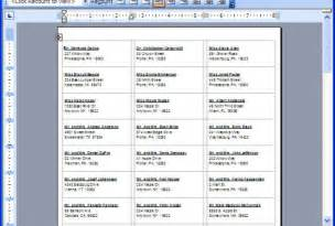 do mail merge from excel into word creating mailing labels