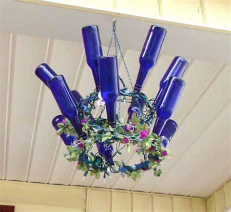wine chandeliers 20 bright ideas diy wine bottle chandeliers