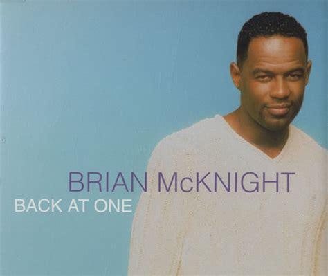 Brian Mcknight New Single by Brian Mcknight Back At One Uk Promo Cd Single Cd5 5