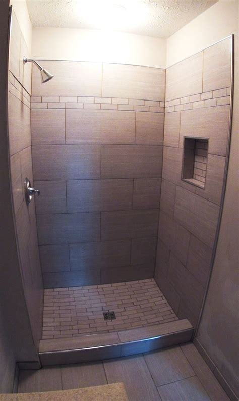 12x24 tile small bathroom 12 x 24 modern shower google search bathroom
