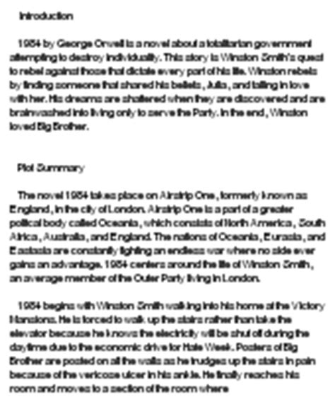 1984 Analysis Essay by 1984 Analysis At Essaypedia
