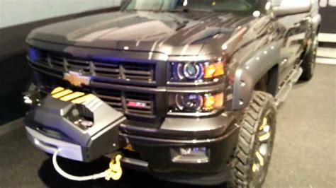 Chevy Silverado Black Ops Show Truck SEMA YouTube
