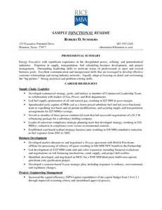Functional Resume Template For Stay At Home Mom