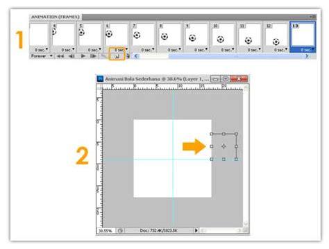cara membuat video animasi bagi pemula belajar photoshop untuk pemula membuat animasi sederhana