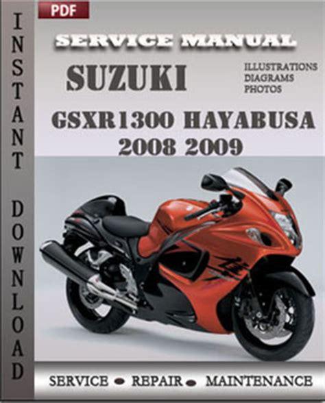 Suzuki Hayabusa Service Manual Suzuki Gsxr1300 Hayabusa 2008 2009 Service Manual