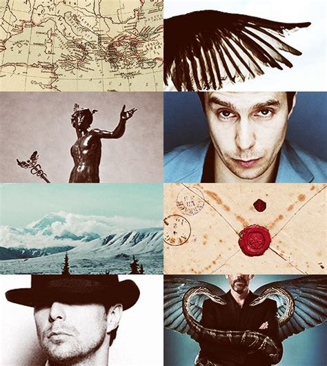themes tumblr god greek mythology dreamcast sam rockwell as hermes a