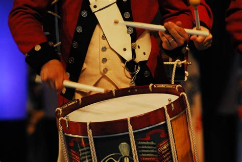file drummer in the old guard fife and drum corps 50th