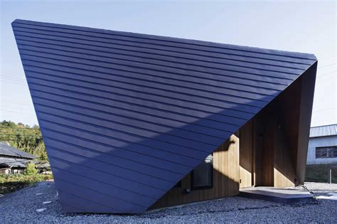 Origami Roof - totally terrific triangles in architecture yellowtrace