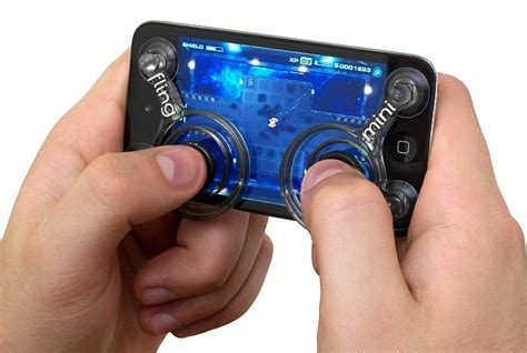 android phone controller fling mini controller kit for iphone ipod touch and android smart phones stuff addict