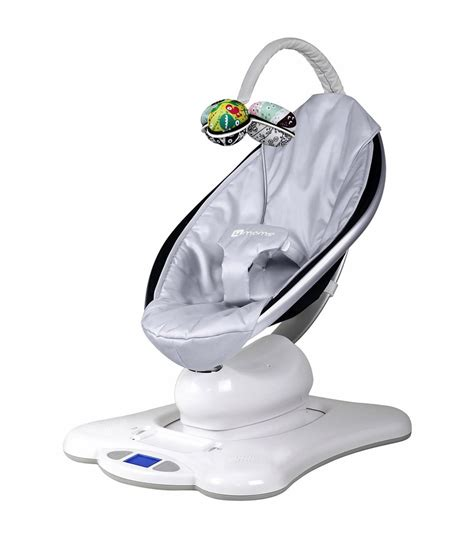 baby swing bouncer rocker 4moms mamaroo silver classic