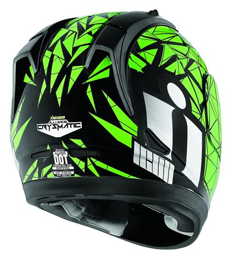 green motocross helmets 150 00 icon alliance crysmatic full face motorcycle 204495